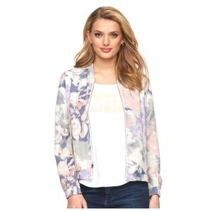 Juicy Couture Floral Bomber Jacket